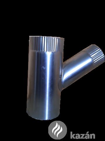 alu füstcső ág 112/76/45 szűkítő ág