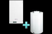 Viessmann Vitodens 100-W Touch 19 kW gázkazán, kondenzációs hőközpont Vitocell 100-W 100 L tárolóval EU-ERP