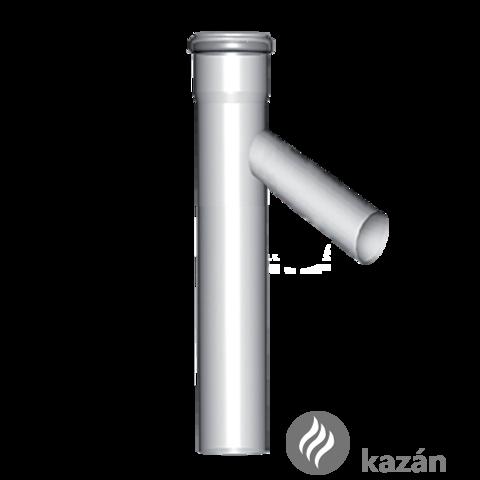 Almeva PPH kondenzációs CAS csőidom 45° leágazással 110/80 1000 mm