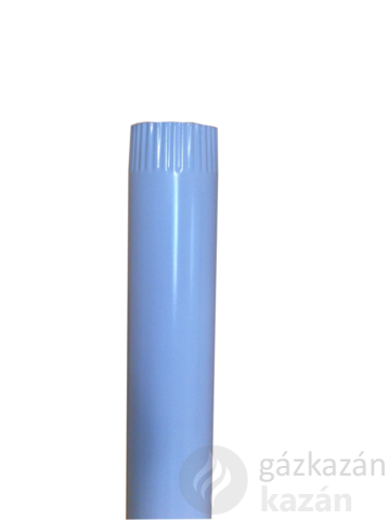 alu füstcső 132-es fehér