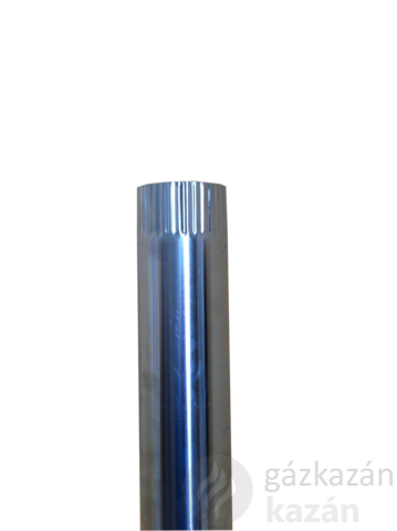 alu füstcső 132/1000