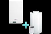 Viessmann Vitodens 100-W Touch 26 kW gázkazán, kondenzációs hőközpont Vitocell 100-W 100 L tárolóval Vitotrol 100 UTDB szobatermosztáttal EU-ERP