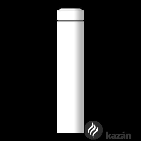 Viessmann cső 0,5m 60/100 pps/alu külső hosszabbító