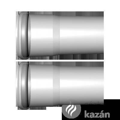 Viessmann cső 1,95m 60mm pps (2db)