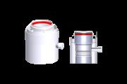 Tricox AAKL60C alu/alu 80/125 kondenz. leválasztó