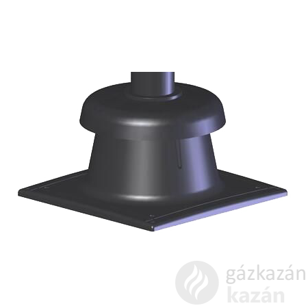 Tricox KF10 kürtő fedél 60mm, fekete