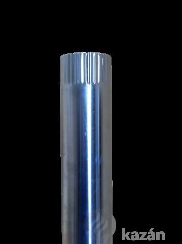 alu füstcső 150/1000