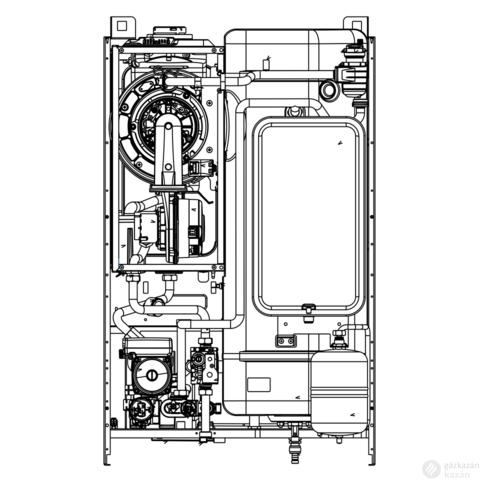 Beretta Exclusive Boiler Green HE 35 B.S.I. kondenzációs kombi gázkazán EU-ErP