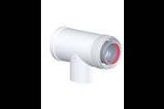 Tricox AAET50C alu/alu 60/100 ellenörző T-idom